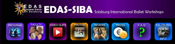 SIBA - Salzburg International Ballet workshop