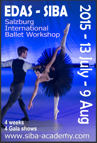 SIBA Salzburg International Ballet Workshop 2015