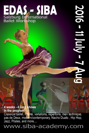 SIBA Summer Ballet Workshop 2016