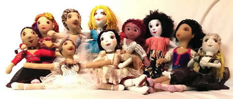 SIBA Ballet Dolls for scholarship