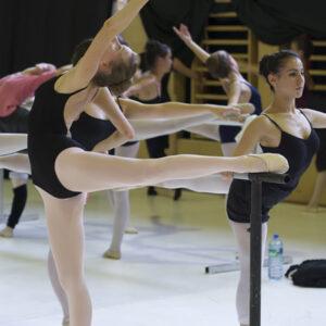 EDAS SIBA training ballet class