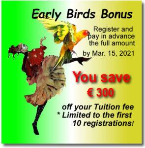 SIBA 2021 early bird offer